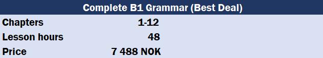 Grammar courses - Alfaskolen no